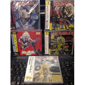Iron Maiden Lote Colecao Cd Japones Amolad Rocks Live One No