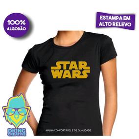 65f5cd1f8 Blusa Do Star Wars Feminina - Camisetas e Blusas para Feminino no ...