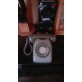 Antiguo Telefono Gris
