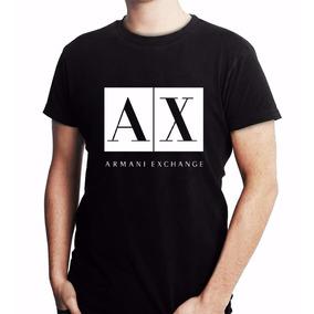 Camisetas Da Armani Exchange - Camisetas Manga Curta Masculino no ... 90f6697a63