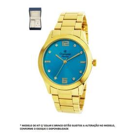 8b94125a9f1 Relogios Femininos Com Fundo Azul Champion - Relógios De Pulso no ...