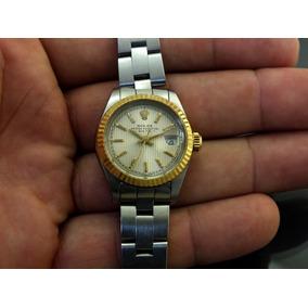 e512560d820 Relógio De Pulso Feminino Rolex Calendário Em Aço J19985