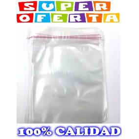 Bolsas Transparentes Para Cd Dvd Paquete 100 Unid