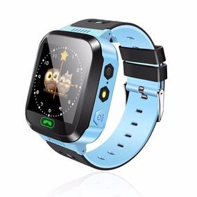 Relógio Infantil Gps Lbs Localização Monitoramento Ds39 Azul