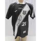 Camisa De Futebol Ponte Preta De Jogo   21 Lino Finta 100 An 42b21962a0503