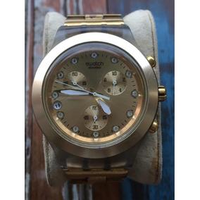 e3ebe4518fc Relogio Swatch Irony Swiss Aluminio - Relógios De Pulso no Mercado ...
