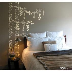 Stencil Abedul B Plantilla Decorativa Reusable Para Pintar