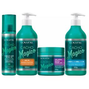 Lowell Cacho Mágico Kit, Promove Hidratação Natural+brindes