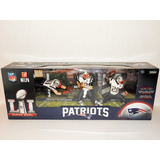 Patriotas Nueva Inglaterra 3 Pack Figuras Mcfarlane Campeon