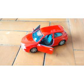 Alfa Romeo 147 Gta Vermelho Kinsmart Escala1:32 Kt5085