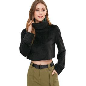 Polera Cuello Alto Mujer - Vestuario y Calzado en Mercado Libre Chile 61a57b442cfc