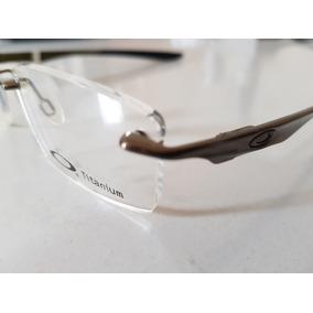 885a2544b Borracha Oculos Oakley Titanium Armacoes - Óculos no Mercado Livre ...