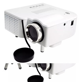 Mini Projetor Portátil Led Full Hd 1080p Hdmi Av C/ Tripé
