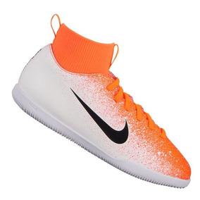 cc6b4c2246 Chuteira Infantil 35 Nike - Chuteiras Infantil Laranja no Mercado ...