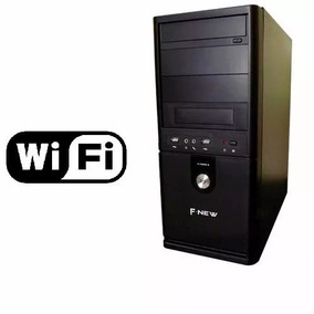Pc Intel Core I5 Ssd 240 G 4gb 1 Ano Garantia Wifi Brinde