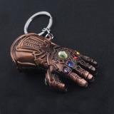 Chaveiro Thanos Marvel Guerra Infinita Na Cor Bronze