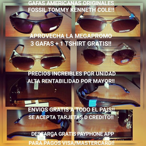 Gafas Tommy Fossil Nine West Originales Americanas