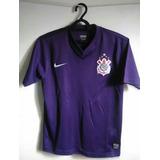 Camisa Do Corinthians Feminina Roxa no Mercado Livre Brasil 8a5f13661091c