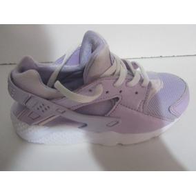 64d189b229 Tenis Nike Huarache Color Lila Talla 20cm C1065