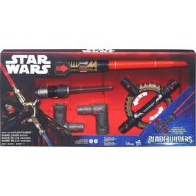 Oferta Espada Sable Luz Star Wars Blade Builders Giratorio *