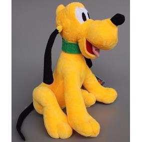 Pluto Da Turma Do Mickey Pelucia Musical 22cm Antialérgico