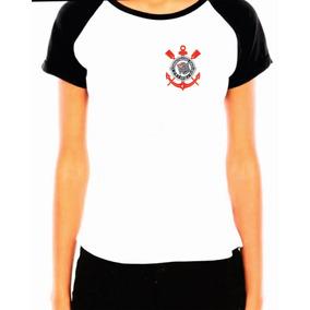 Camiseta Corinthians Feminina Cp - Camisetas no Mercado Livre Brasil b65cf5fd161b8