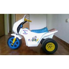 Moto Eléctrica P/ Niños,3 Ruedas, Power Wheels Fisher Price