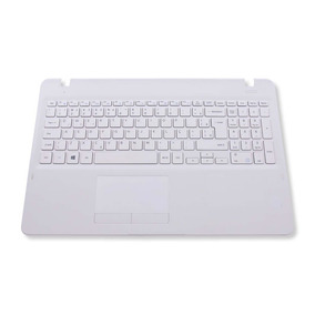 Teclado Notebook Samsung Np300e5m Branco