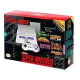 Nintendo Mini Snes + 2 Controles +21 Juegos + A Eleccion !