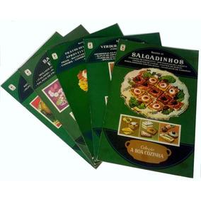 5 Livros Da Coleção A Boa Cozinha, Brochura-frete Grátis