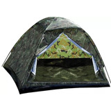 Barraca Camping Camuflada Militar 4 Lugares -frete Gratis