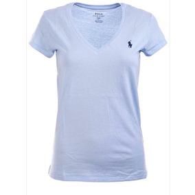 Camiseta Polo Ralph Lauren Gola V - Branca 263895e0ea4