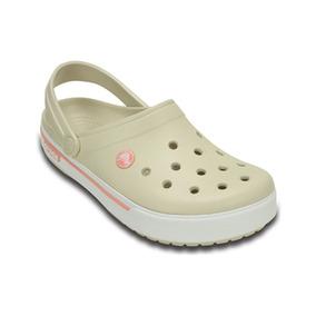 Crocs Bege E Rosa 38 Nova Original