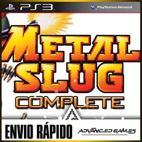 Metal Slug Collection 1 Ao 6 E X - 7 Jogos - Jogos Ps3 Psn