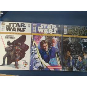 Coleção Hq Star Wars Legends E Darth Vader Panini Varios Vol