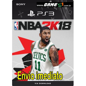Nba 2k18 Ps3 Midia Digital Online Game X1 Psn Original