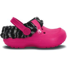 Zapato Crocs Niña Blitzen Ii Animal Print