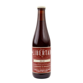 Cerveza Artesanal Libertad Red Ale 355ml 24 Pack