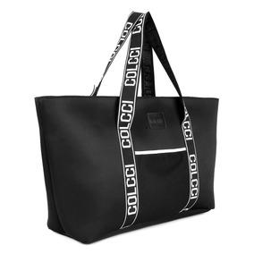 Bolsa Colcci Shopper Cadarço Feminina - Preto