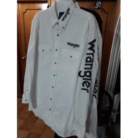 1c1c94dfc3 Camisa Marca Wrangler Tipo Vaquera Talla Eg Manga Larga