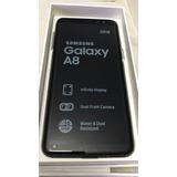 Samsung A8 2018,libre ,negro,nacional,envio Gratis!!
