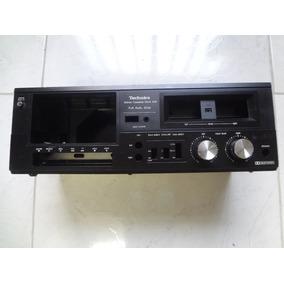 Gabinete Vazio Com Knobs Tape Deck Tecnics 608
