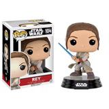 Funko Pop 104 Star Wars The Force Awakens Rey Playking