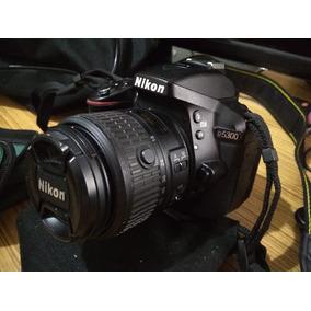 Câmera Nikon D5300 Lentes 18-55 E 50mm Bolsa+tripé+sd32gb