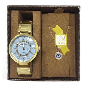 Kit De Relógio Mondaine Feminino 53617lpmkde1
