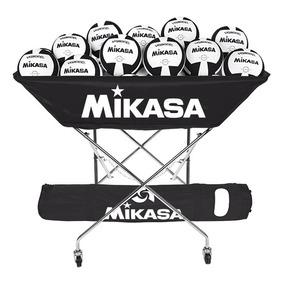 Carro Balonero Mikasa Original Serie Bch Tipo Charola Volley 0799b7288cf90