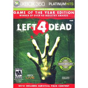 Left 4 Dead Goty Xbox 360 Mídia Física
