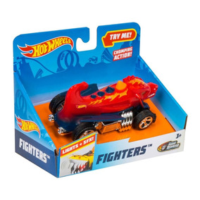 Veículos Hot Wheels Road Rippers Fighters Com Som Dtc