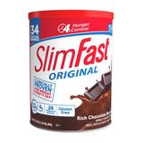Slimfast Usa De Chocolate De 884 Gr 34 Malteadas
