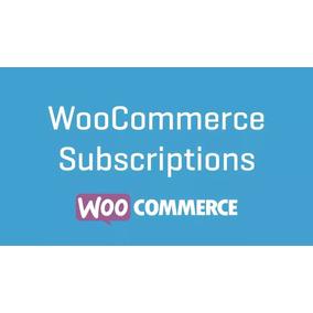 Plugin Woocommerce Subscriptions - Assinaturas Woocommerce